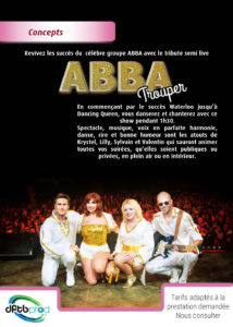 Spectacle Abba Trouper