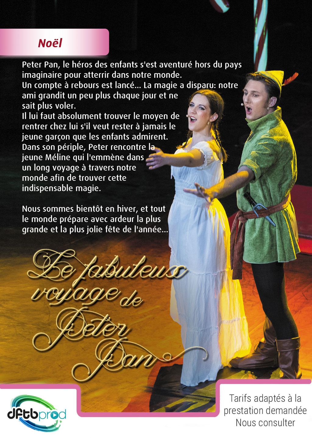 Le fabuleux voyage de Peter Pan