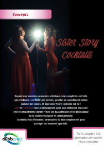 Spectacle Sister Story Cocktails