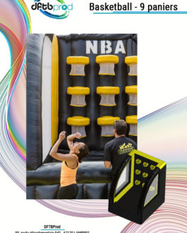 Basketball – 9 paniers